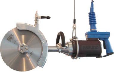 Дисковая пила для распиловки на полутуши с электрическим приводом SK28-03L