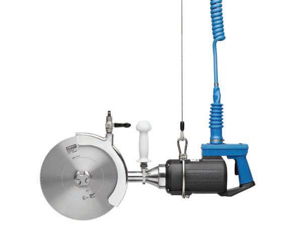 Дисковая пила для распиловки на полутуши с электрическим приводом SK32-06L